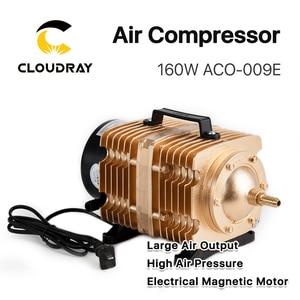 Image 2 - Cloudray 160W אוויר מדחס חשמלי מגנטי אוויר משאבת עבור CO2 לייזר חריטת מכונת חיתוך ACO 009E