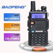 2019 Baofeng UV-5R III Tri-Band Dual Antenna Walkie Mobile Transceiver