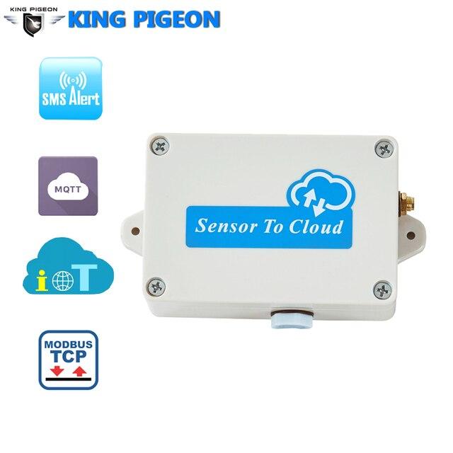 Industrielle IoT Rand Geräte Fern Überwachung unterstützt MQTT Digital Analog Temperatur eingang Cellular IOT Plattform-in Alarm System Kits aus Sicherheit und Schutz bei