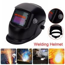 Solar With Li Battery Auto Darkening Electric Welding Mask/Helmet/Welder Cap Adjustable Welding Lens Eye Mask Welding Machine