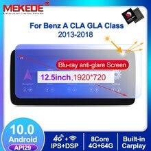 1920*720 Android10 4G + 64G Auto Gps Navigatie Dvd speler Voor Mercedes Benz Cla Klasse W117 een Klasse W176 Gla Klasse X156 2013 2018