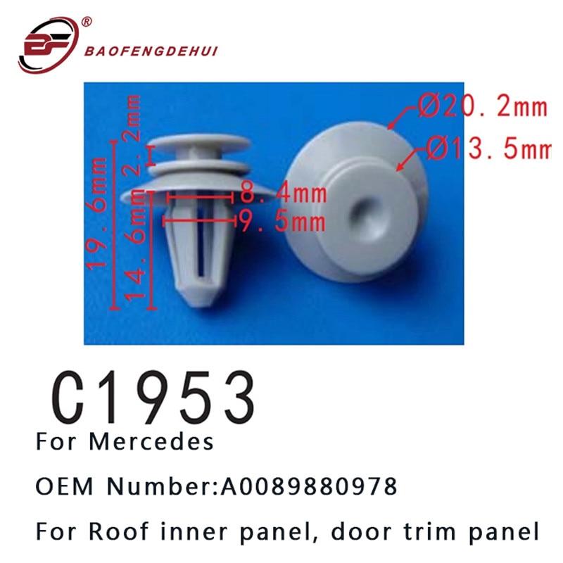 Mercedes-Benz OEM Door Panel Clip Fastener Rivet 0119887678