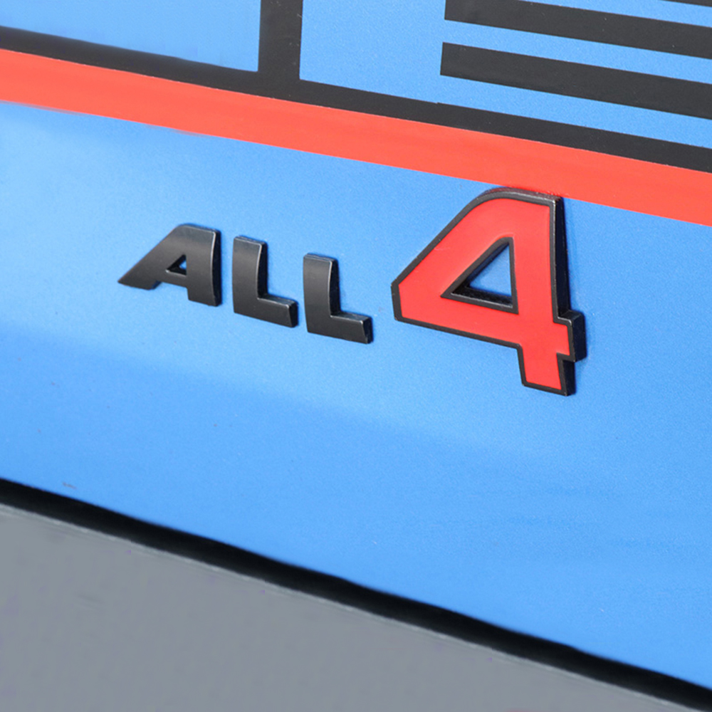 Badges autocollants 3D pour Mini Cooper S JCW One, 4 logos, autocollants de décoration pour carrosserie de voiture, accessoires de style automobile