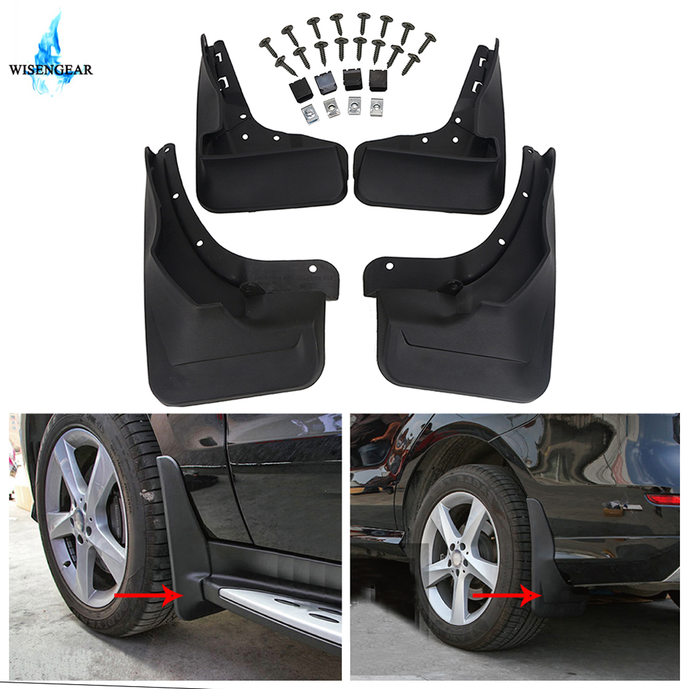 Mud Flap Splash Guard For Benz W164 ML350 ML300 ML500 without Running Board