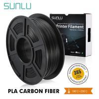 SUNLU PLA In Fibra di Carbonio Premium 3D Stampante Filamento Estremamente Rigida In Fibra di Carbonio 1.75 millimetri +/- 0.02 millimetri 1 KG (2.2 lb)