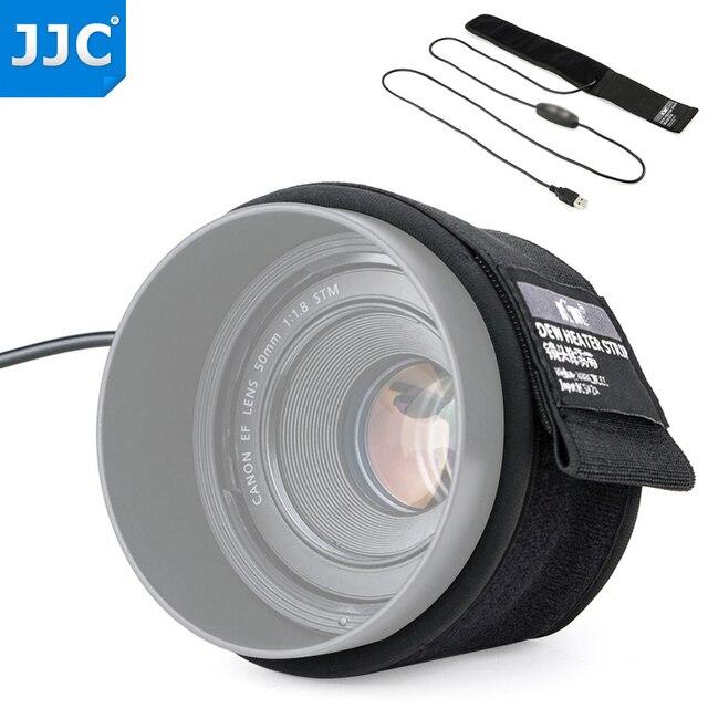 Calentador de lentes USB para Nikon, Canon, Sony, Olympus, Fujifilm, prevención de condensación