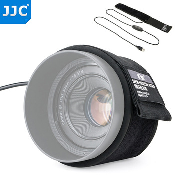 Calentador de lente removedor de rocío nocturno Calentador USB para Nikon Canon Sony Olympus Sigma Fujifilm lente y telescopios prevención de condensación