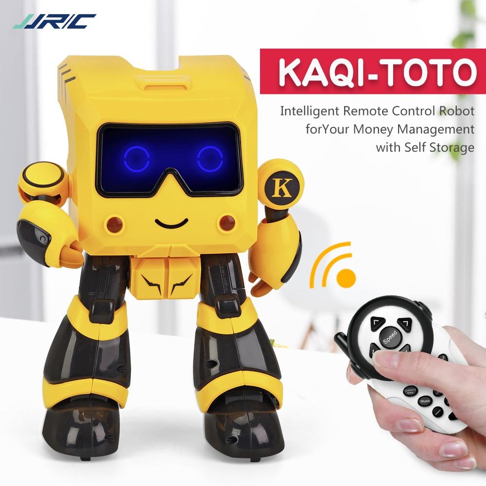 JJRC R17 Robot inteligente Music Dance RC Robot For Children Follow Gesture Sensor IR Robot Toys Robo Programmable Robot Kids