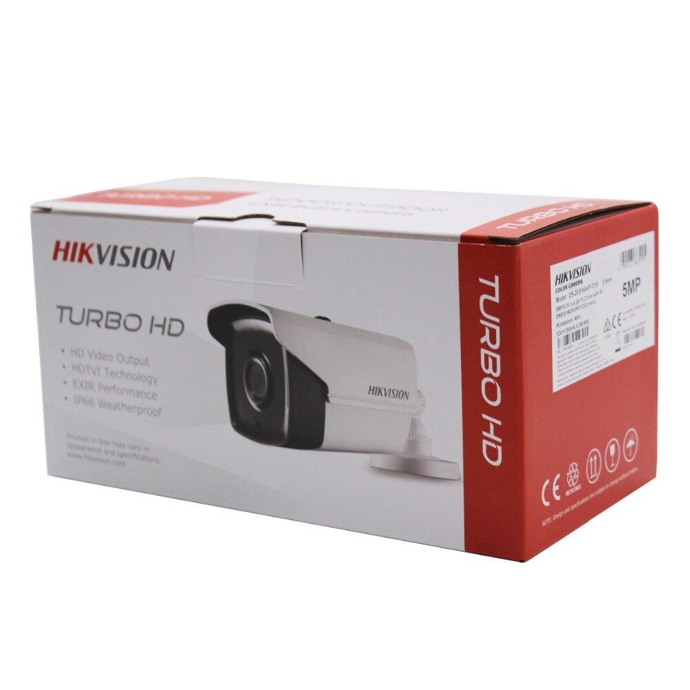 Hikvision 5MP TVI/AHD/CVI/CVBS 4 en 1 caméra à balle analogique DS-2CE16H0T-IT3F système de caméra de vidéosurveillance EXIR haute Performance de 5 mégapixels - 4