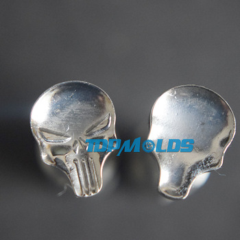 Skull 9.5x12.8mm Milk Tablet Die 3D Punch Press Mold Candy Punching Die Custom Logo Calcium Tablet Punch Pill Press Manual Die