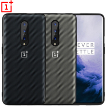 Oneplus 7 Pro Case 7T 6T 6 5T 5 Carbon Texture Leather Back Cover One Plus T Full Protective Shockproof C