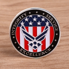 The oath of the United States Air Force Commemorative Challenge Coin Collection Novelty Gift jerusalem israel united states embassy trump challenge coin dedicated may 14 2018