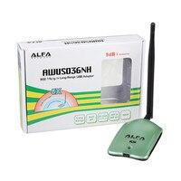 ALFA AWUS036NH WIFI Адаптер Ralink 3070L Wifi Сетевая карта 2000 МВт ALFA Беспроводной Wi-Fi USB-приемник / адаптер с 5dbi Аненна 1 компл.