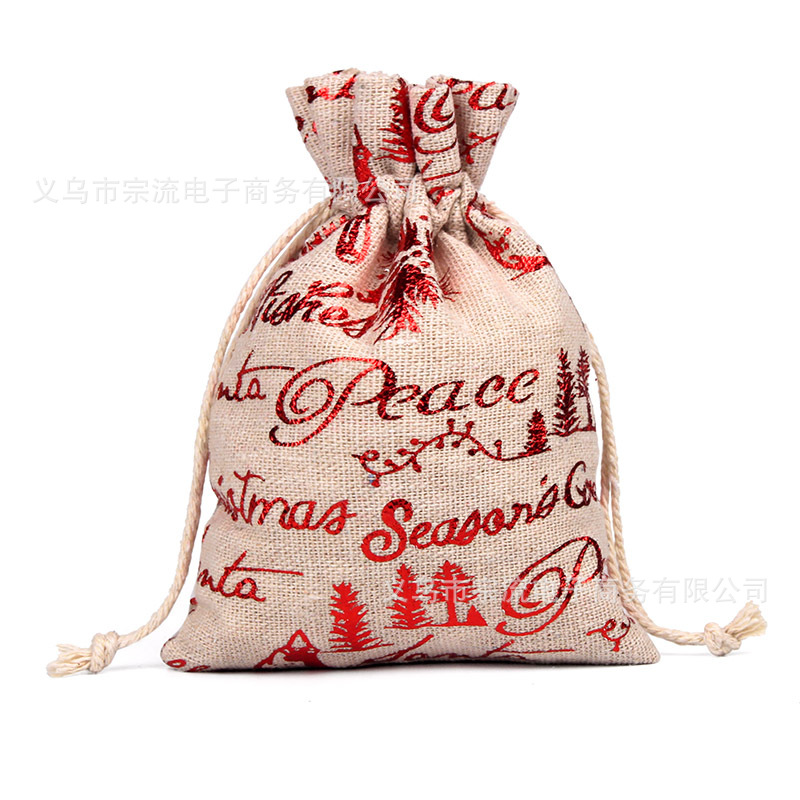 Drawstring Bag Red Peace Bird Bunches Fashion Women Printing Small Men Casual Bags Unisex Women's Drawstring Cotton Christmas