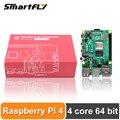 Latest Raspberry Pi 4 Model B LPDDR4 2G/4G Quad-core Cortex-A72 (ARM v8) 64-bit 1.5Ghz Dual 4K HDMI Output Power than 3B+