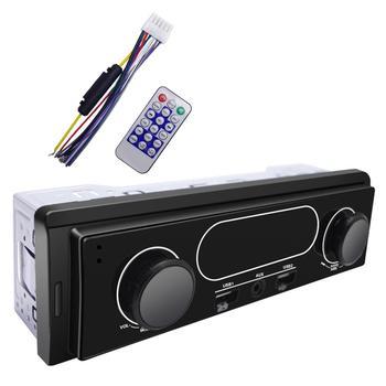 `Bluetooth MP3 Player Car Audio Radio Module With FM Radio Auxiliary USB Charging Remote Control Infrared Remote Control Black