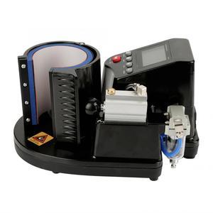 Pneumatic Auto Mug Transfer Sublimation Heat Press Machine ST-110 Black