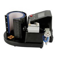 Pneumatic Auto Mug Transfer Sublimation Heat Press Machine ST 110 Black