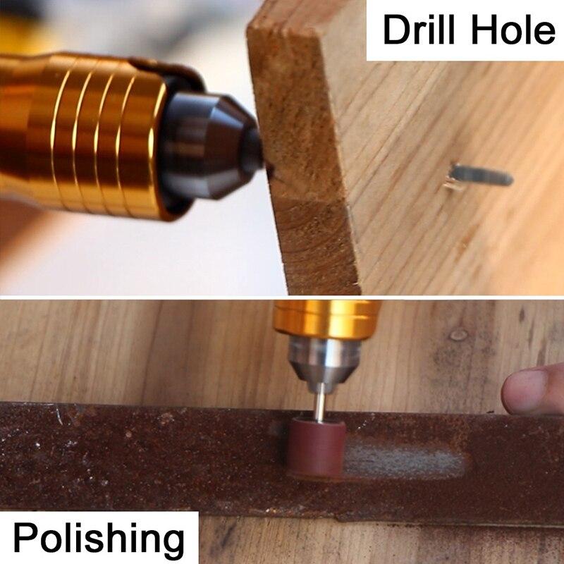 6 мм Вращающийся угловой шлифовальный инструмент гибкий вал Подходит + наконечник 0,3-6,5 мм для электрической дрели Dremel Аксессуары для вращающегося инструмента