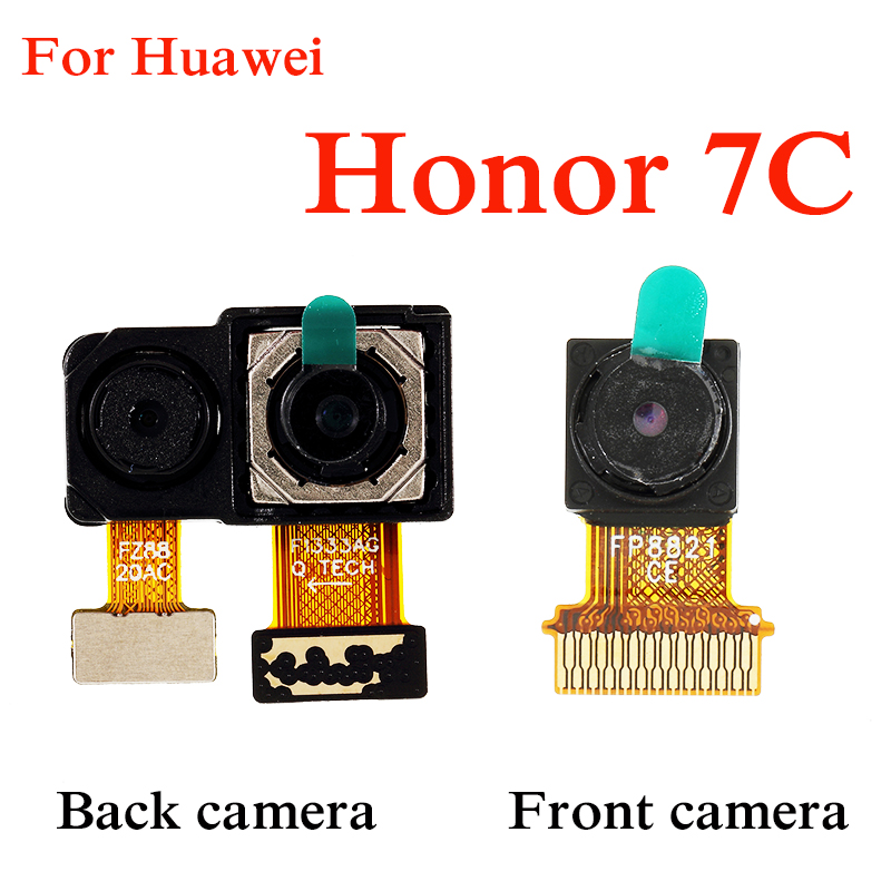 Big Main Back Rear Camera Flex Cable For Huawei Honor 7C Original Repair Parts