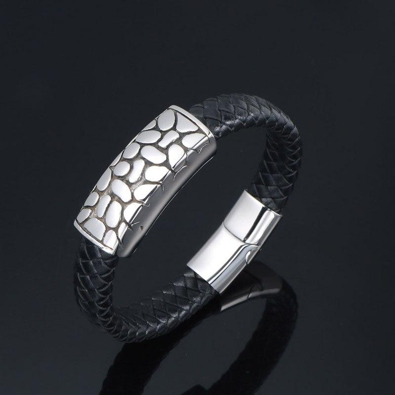 Weaving Leather Bracelet Punk