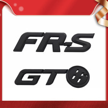 FR S FRS GT86 FT86 BRZ 자동차 후드 펜더 트렁크 리어 보닛 네임 플레이트 데칼 엠블럼 배지 스티커 용 3D 프리미엄 ABS GT86 FR S FRS