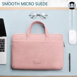 Pasta portátil para macbook air pro, retina 13 14 15, laptop sleeve 15.6, bolsa para dell ace asus bolsa feminina da hp para negócios