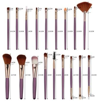 MAANGE 6/15/18/20Pcs Makeup Brushes Tool Set Cosmetic Powder Eye Shadow Foundation Blush Blending Beauty Make Up Brush Maquiagem 4