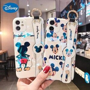 Image 1 - Disney Leuke Rug Mickey Zachte Imd Case Voor Iphone 12 11 Pro X Xr Xs Max Se 7 8 Plus 7Plus 8 Plus Mobiele Telefoon Cover Terug Bumper