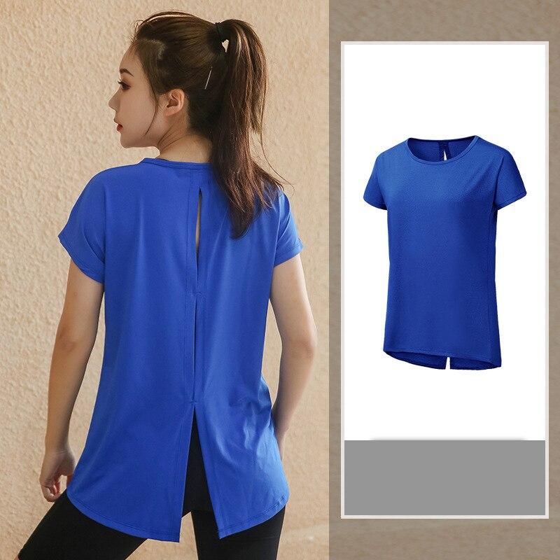 Женская футболка размера плюс L-4XL для фитнеса, йоги, йоги, с коротким рукавом, Спортивная футболка для бега, тренажерного зала, Спортивная дышащая спортивная одежда