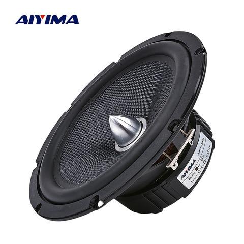 aiyima 1 pcs 6 5 polegada carro de audio midrange graves alto falantes casa teatro