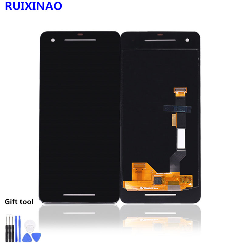 <font><b>LCD</b></font> Display <font><b>Screen</b></font> Digitizer Assembly For <font><b>Google</b></font> <font><b>Pixel</b></font> 2, <font><b>Pixel</b></font> 2 <font><b>XL</b></font> <font><b>LCD</b></font> image