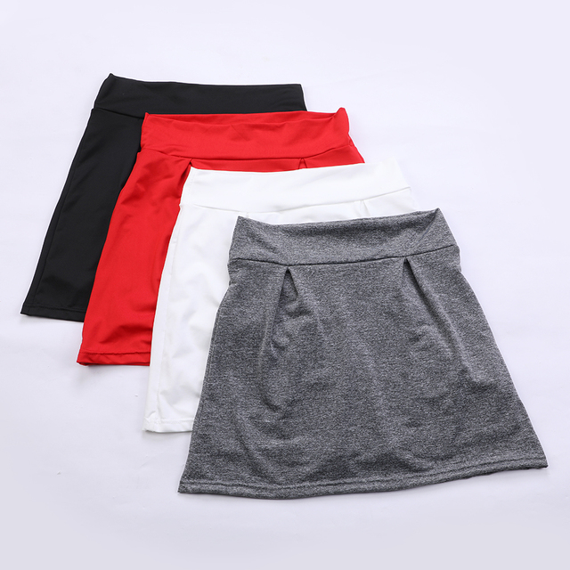 2021 Women's Summer Light Fake Two Piece Skirts Woman Shorts Casual Sports Beach Mid Waist Solid Shorts Fashion Lace-up Ruffle 5