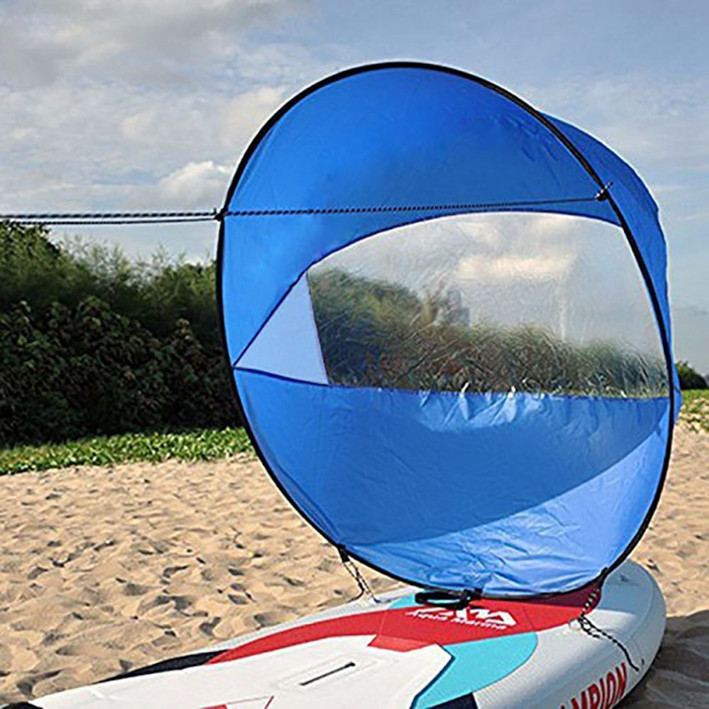 Ocean Kayak Boat Wind Sail Paddle Board Sailing Canoe Stroke Wind Paddle Rowing Boats For Sea Travel Canoe Surfling Drifting in Rowing Boats from Sports Entertainment