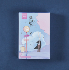 L176- Dream Place Paper Greeting Card Lomo Card(1pack=28pieces)
