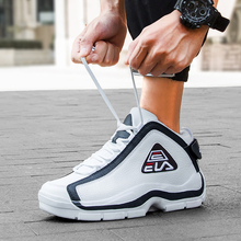 New Trend Male Basketball Sneakers High Top Sport Shoes