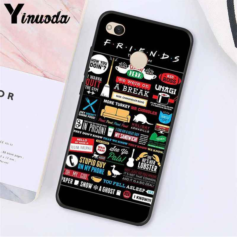 Yinuoda Central Perk Cà Phê Bạn Bè Truyền Hình Ốp Lưng Điện Thoại Xiaomi Note3 Mi5 6 A1 A2 Lite Mi9 9SE Mi8lite 8 Nhà Thám Hiểm