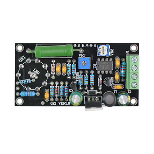 Image 3 - GHXAMP Low Voltage 6E1 Tube Amplifier Board DC12V Replacement EM81 fluorescence tuning indicator amplifier 6E1n Drive