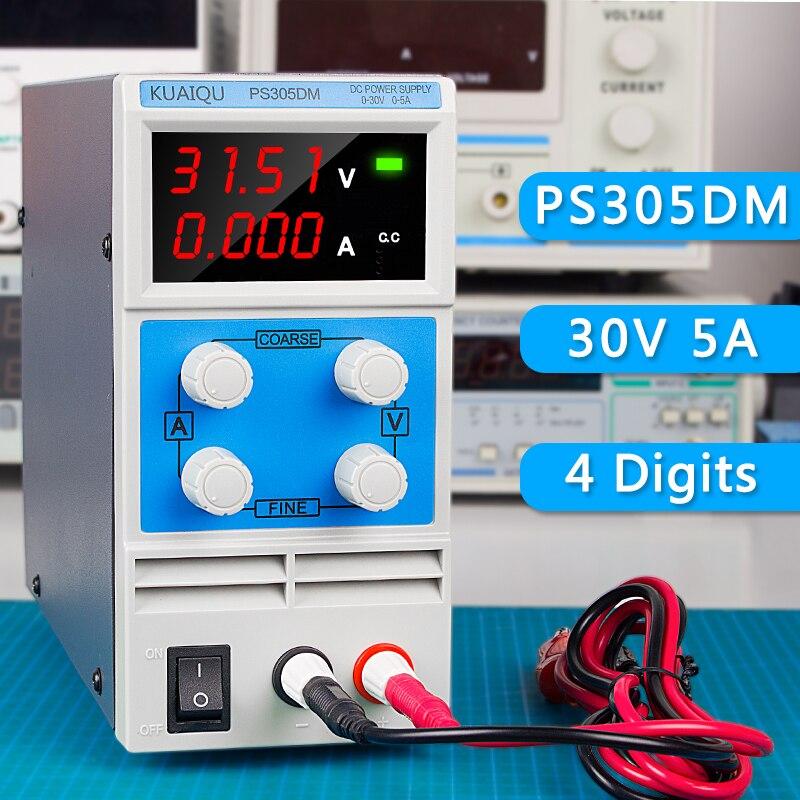 Lab Power Supply 30v 5a 50Hz/60Hz Bench Source Digital Adjustable Source Voltage Regulator 110V/220 V Current Stabilizer