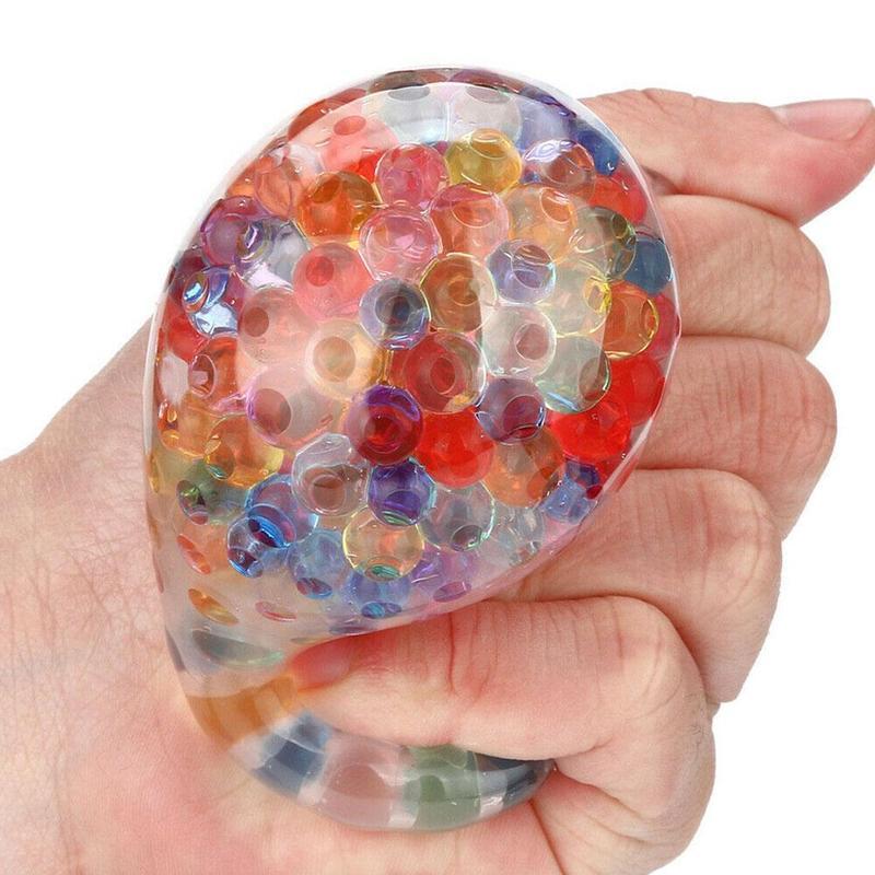 Забавные игрушки губчатый Радужный шар игрушки податливый игрушка для снятия стресса в шар для снятия стресса ради интереса косметика парфюмерия диспенсер 5 мл настроение Сожмите рельеф игрушки #40|Настольные игры|   | АлиЭкспресс