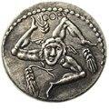 RM(23) римские старинные римские-49 посеребренные копии монет