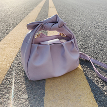 Tote Bags For Women 2020 Vintage Handbags Solid Color Summer Crossbody Shoulder Bag Lady Cloud Pouch Female Soft Leather Clutch