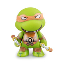E FOUR Cute Car Ornament TMNT Ninja Baby Cartoon Characters Doll Decoration Cars PVC Green Material Lovely Accessories for Cars