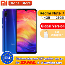 """Global Version Xiaomi Redmi Note 7 4GB 128GB Smartphone S660 Octa Core 4000mAh 6.3"""" 2340x1080 48+13MP Dual Camera Mobilephone"""