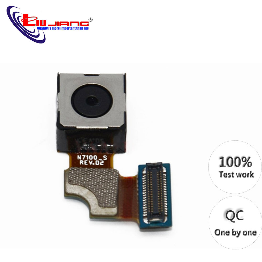 Original Back Camera For Samsung Note 2 N7100 Rear Main Camera Ribbon Flex Cable Module Replacement Repair Parts