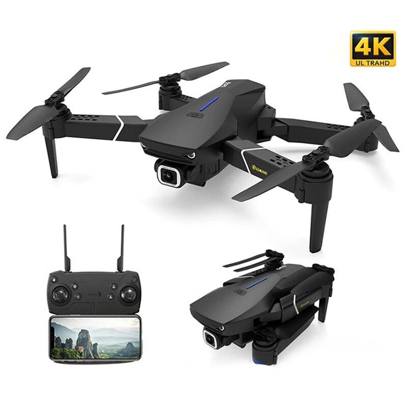 E520S Профессиональный 4K Дрон Радиоуправляемый квадрокоптер гоночный Дрон с WIFI широкоугольная HD FPV камера складной вертолет игрушки