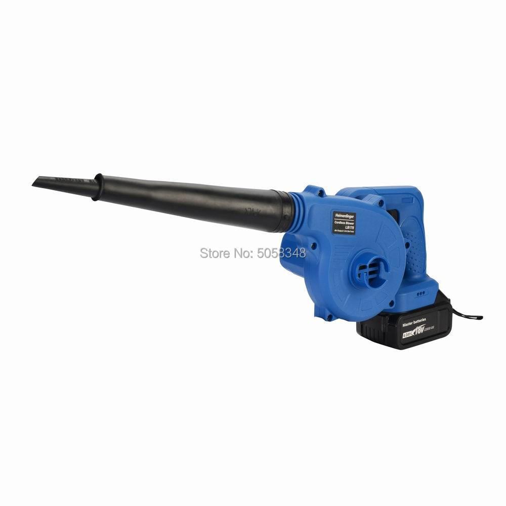 18v Cordless Slow Blower  Cordless Leaf Blower Cordless Floor Blower Cordless Ground Blower With Two 4.0Ah Battery Packs
