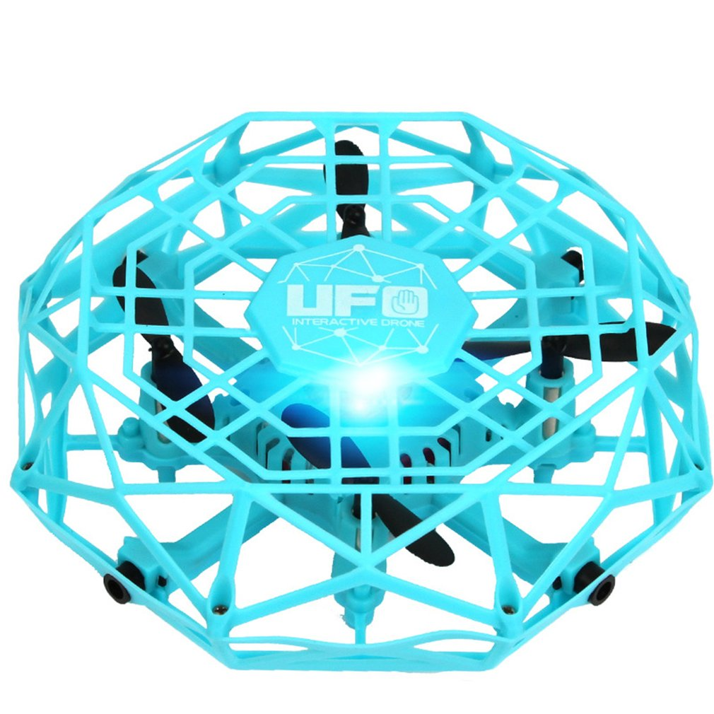 TL123  Magic Hand UFO Ball Aircraft Sensing Mini Induction Drone Kids Electronic Helicopter Toy Best Gift
