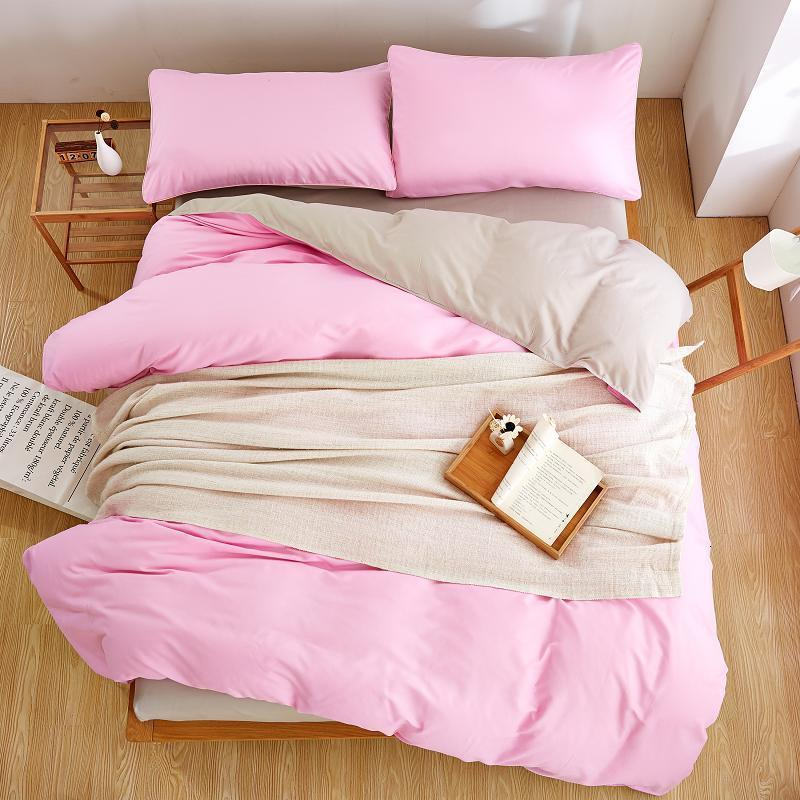 Best Pink Polyester Microfiber Bed Sheet Sets