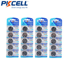 Button-Cell-Batteries Lithium-Battery BR2450 Calculators Watches DL2050 PKCELL for Toys
